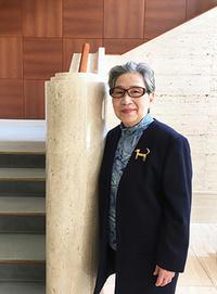 松室加世子先生のご来館 - 松岡美術館 ブログ