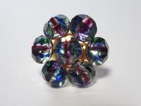 アイリスガラスのフラワーリング - Iris Accessories Blog