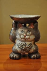 招き猫 - 金太郎窯のおたより