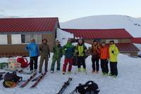 滑れる北アルプスオートルート - じゅんりなブログ