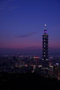 台北101の夜景 - morioka暇人日記2