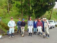 フットパスコースの整備作業 - 浦佐地域づくり協議会のブログ