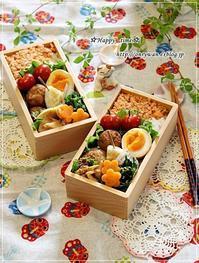 鮭フレークのっけておばんざい弁当とパン作り♪ - ☆Happy time☆