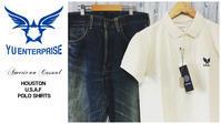 タフな男には、胸元にワンポイントくらいがちょうどいい!HOUSTON USAFポロシャツ - アメカジ、古着、ミリタリーファッションのブログ