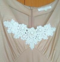 アイリッシュクロッシェレースの胸飾り - Atelier-gekka ハンドメイドのおはなし