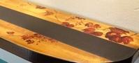 """漆にて山葡萄を / 太田さんのカウンターテーブル (""""ピックアップ""""5人展-3) - 京・千本、朱雀 の 空・間 [紅椿 それいゆ]   ~ 創造する人 と 想像する人 のために ~"""