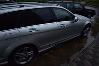 雨の日も素敵なVOLVO940&MercedesBenzくん - 光画日記