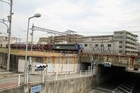 藤田八束の鉄道写真@東海道本線JR西宮駅(兵庫県西宮市)付近で貨物列車の写真を撮影 - 藤田八束の日記