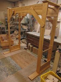【受付終了いたしました】セカンドハンドうんていNタイプW1800×H1800×D870可動式登り棒2本 - MIKI Kota STYLE by Art Furniture Gallery