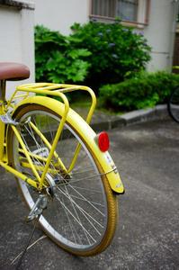 黄色の自転車。 - 僕の眼。