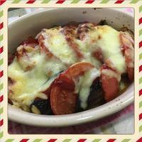 茄子とトマトのチーズ焼き(レシピ付) - kajuの■今日のお料理・簡単レシピ■