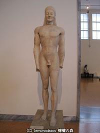 ヴロマンドラのクーロス像 - 日刊ギリシャ檸檬の森 古代都市を行くタイムトラベラー