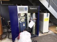 エア配管工事コベライアンVS425AD - コンプレッサーの販売、修理  五条エアマシン㈱社長のブログ