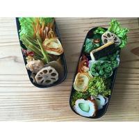 葉牛蒡金平煮BENTO - Feeling Cuisine.com