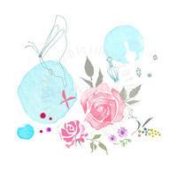 東レコンタクトプレリーナIIシリーズ イメージイラストレーション - まゆみん MAYUMIN Illustration Arts