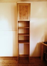 山桜の収納家具 - woodworks 季の木  日々を愉しむ無垢の家具と小物