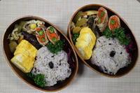 野菜肉巻き弁当 - オヤコベントウ