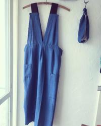 エプロン② - お手手  ・足踏みミシンと手縫いの布小物屋・