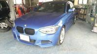BMW F20 フロントバンパー修理。 - フレンドモータースの日記
