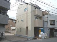 大阪市東成区中本4丁目足場解体 - 太陽住宅ブログ