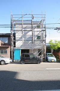 外観は極力シンプルに白山浦の家 - 加藤淳一級建築士事務所の日記