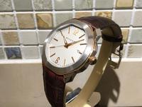 ブルガリ オクト ローマ ゴールドモデル - 熊本 時計の大橋 オフィシャルブログ