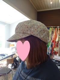 帽子教室・キャスケット - がちゃぴん秀子の日記