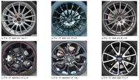 スバル車外装:アルミホイール4 - クルマの研究ノート