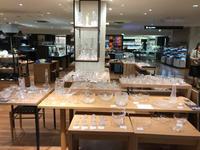 小間前、小間後。2017.5.17 → 5.23 takatomi daisuke glass show @玉川タカシマヤ 本館 5階 器百選 - glass cafe gla_glaのグダグダな日々。