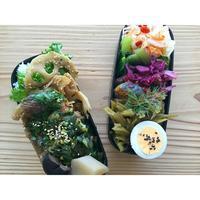 揚げ焼きカレイのニラソースBENTO - Feeling Cuisine.com