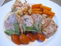 豚フィレ肉のソテー金柑添え&チェリーサラダ - やせっぽちソプラノのキッチン2