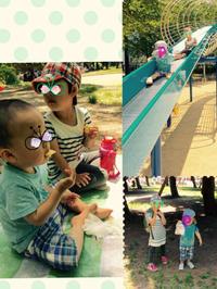 某公園、炎天下。 - ayumidori GO!!GO!! +PON!!