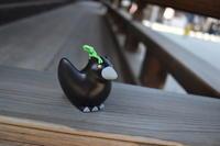 やたがらすの土鈴をGETしました(・v・) 下鴨神社 京都 八咫烏 - marutake-ebisu 京都一景