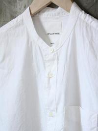 STILL BY HAND 8分袖バンドカラーシャツ - 【Tapir Diary】神戸のセレクトショップ『タピア』のブログです