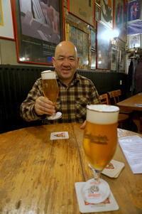 5/10  津和野から古橋さん到着。 - べルリンでさーて何を食おうかな?