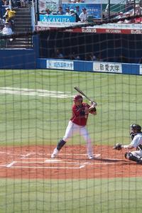 藤田選手 - カメラとさんぽ