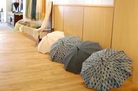 今日から「日傘雨傘傘礼賛III」後半がスタートしました。 - アゲルはクラフトの畑