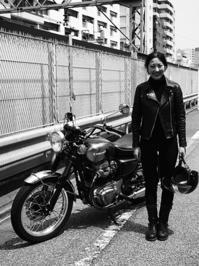 長谷部 真維 & kawasaki W650(2017.04.17) - 君はバイクに乗るだろう