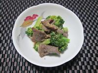 簡単! ブロッコリーと牛肉の辛子和え - candy&sarry&・・・2