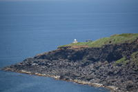 遠くから - 三宅島風景
