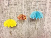 ペーパークラフトの傘 - 空色のココロ~小さな幸せを探して~