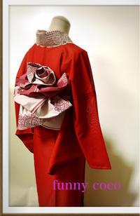 薔薇とリボンの季節展、帯結びWSのご案内。 - 着物スタイリスト  山崎佳子 ブログ