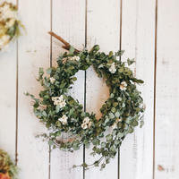 ユーカリのナチュラルリース③ - driedflower arrangement ✦︎ botanical accessory ✦︎ yukonanai ✦︎ gland*