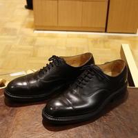 Church's  Lancasterは戦う男のストレートチップ - シューケアマイスター靴磨き工房 三越日本橋本店
