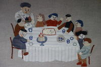 子供の宴会 - 糸巻きパレットガーデン