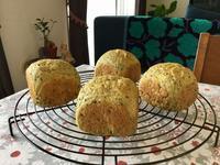 モロヘイヤのセサミライス・ミニ - カフェ気分なパン教室  *・゜゚・*ローズのマリ