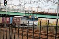 藤田八束の鉄道写真@一生をどう楽しく生きるか、そのための極意・・・辛い時にどうするか、EF65形式貨物列車 - 藤田八束の日記