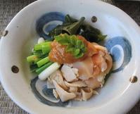 青柳と青葱のヌタ&鮪とスベリヒユの叩き - やせっぽちソプラノのキッチン2