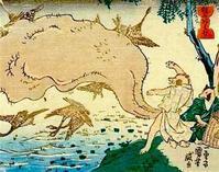 久々浮世絵25 - 風に吹かれてすっ飛んで ノノ(ノ`Д´)ノ ネタ帳