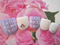 満開の紫陽花ネイル - ネイルをしながら何がしたいですか?リラックスタイムをどうぞ。「ネイルブランチェス白金店」のブログ